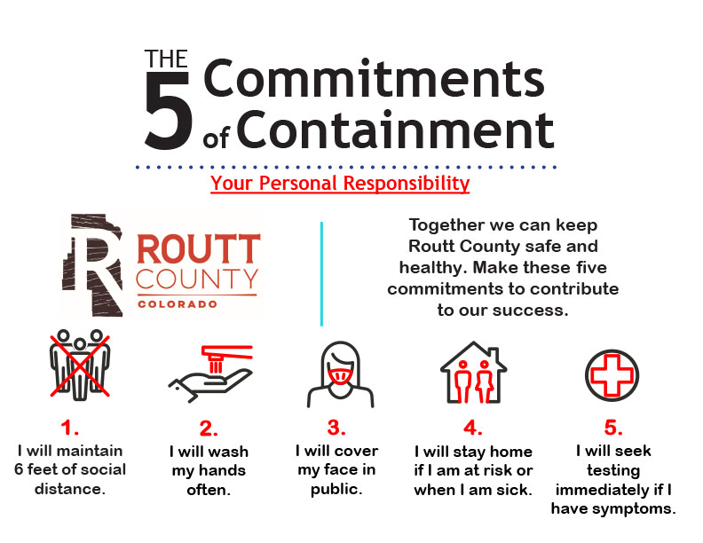 Routt County 5 Commitments to Containment